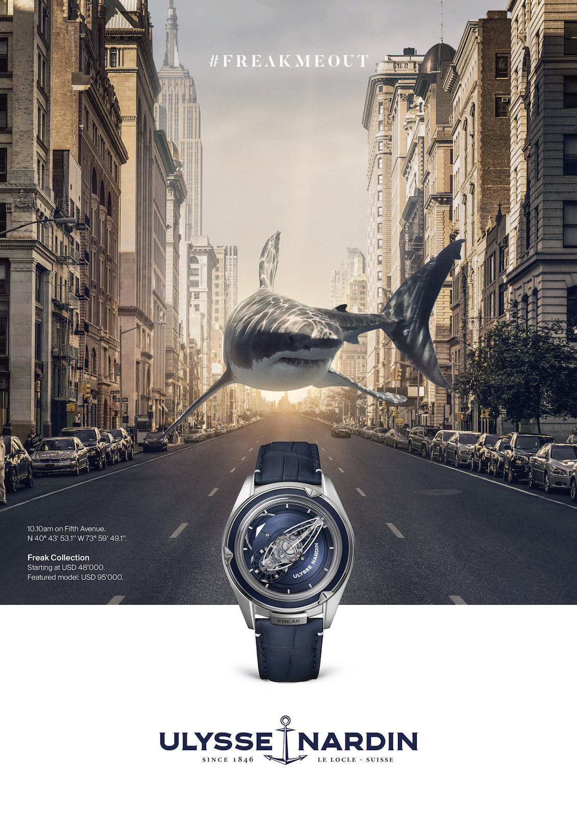 Ulysse Nardin FREAKMEOUT - visual 1
