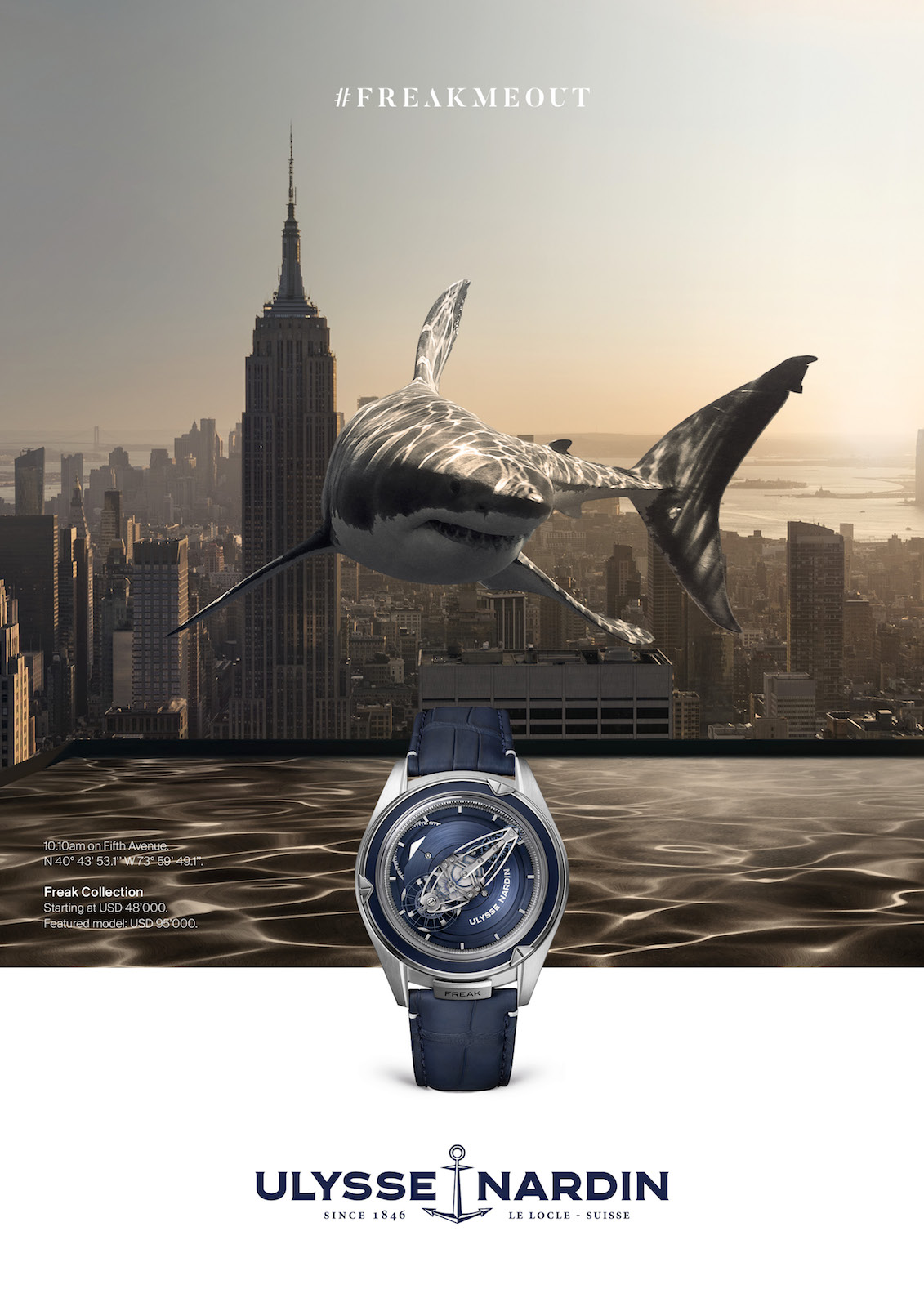 Ulysse Nardin FREAKMEOUT - visual 2