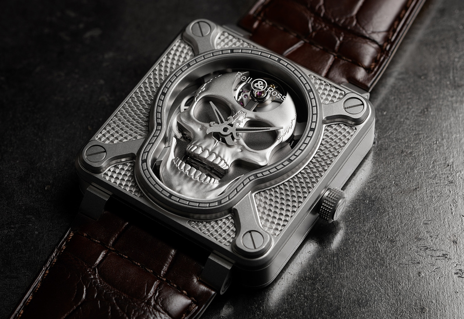 Bell & Ross BR-01 Laughing Skull