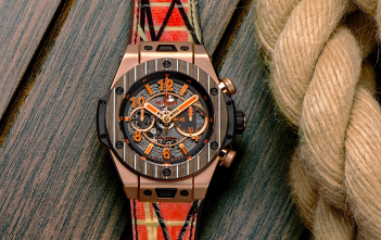 Hublot Big Bang Unico Teak Italia Independent - cover