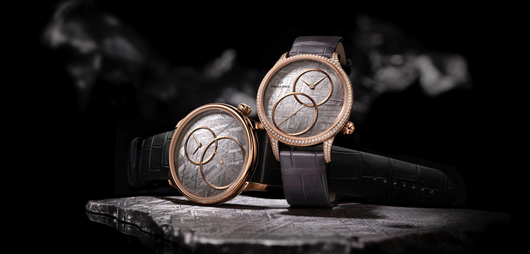 Jaquet Droz Grande Seconde Off-Centered Meteorite - cover