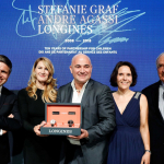 Longines Conquest V.H.P. Stefanie Graf & Andre Agassi Foundations