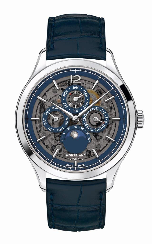 Montblanc Heritage Chronometrie Perpetual Calendar Sapphire