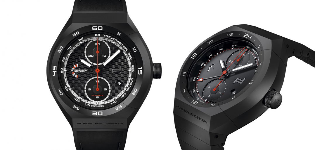 Porsche Design Monobloc Actuator 24H - Chronotimer All Black & Flyback