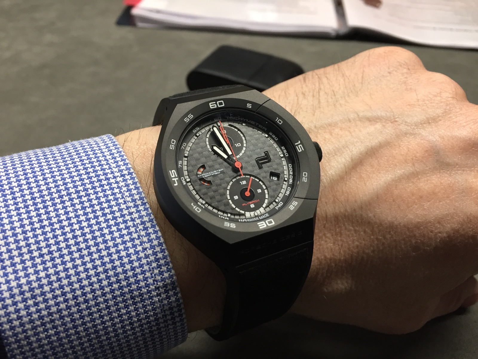 Porsche Design Monobloc Actuator Chronotimer Flyback Limited Edition