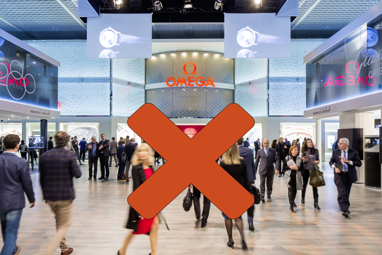 El Swatch Group abandona Baselworld - Omega