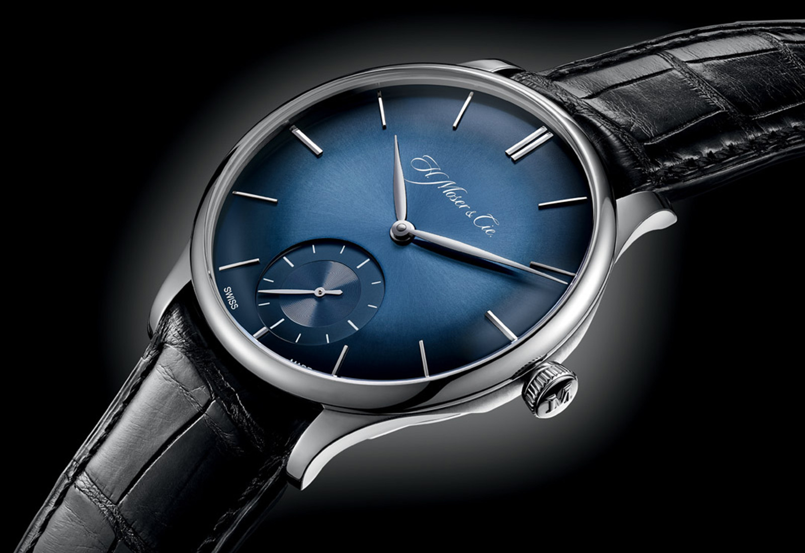 H. Moser & Cie. Venturer Small Second Bucherer Edition (2014)