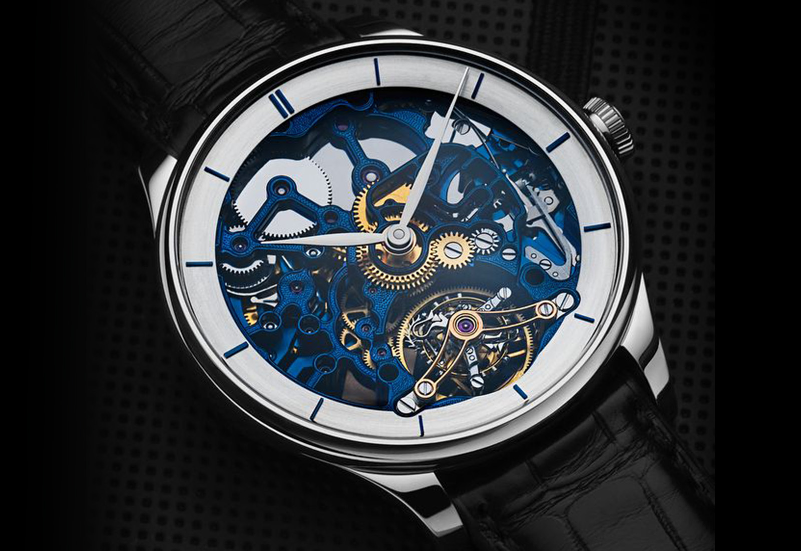 H. Moser & Cie. Venturer Tourbillon Skeleton Bucherer Edition