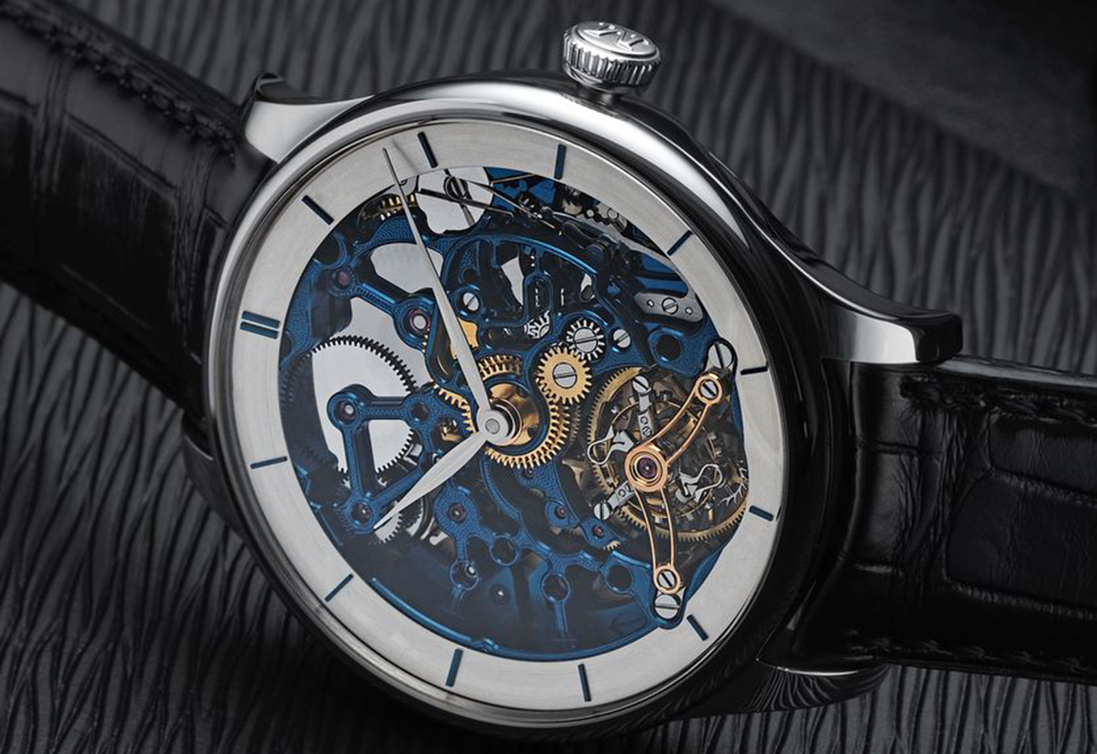 H. Moser Venturer Tourbillon Skeleton Bucherer Edition