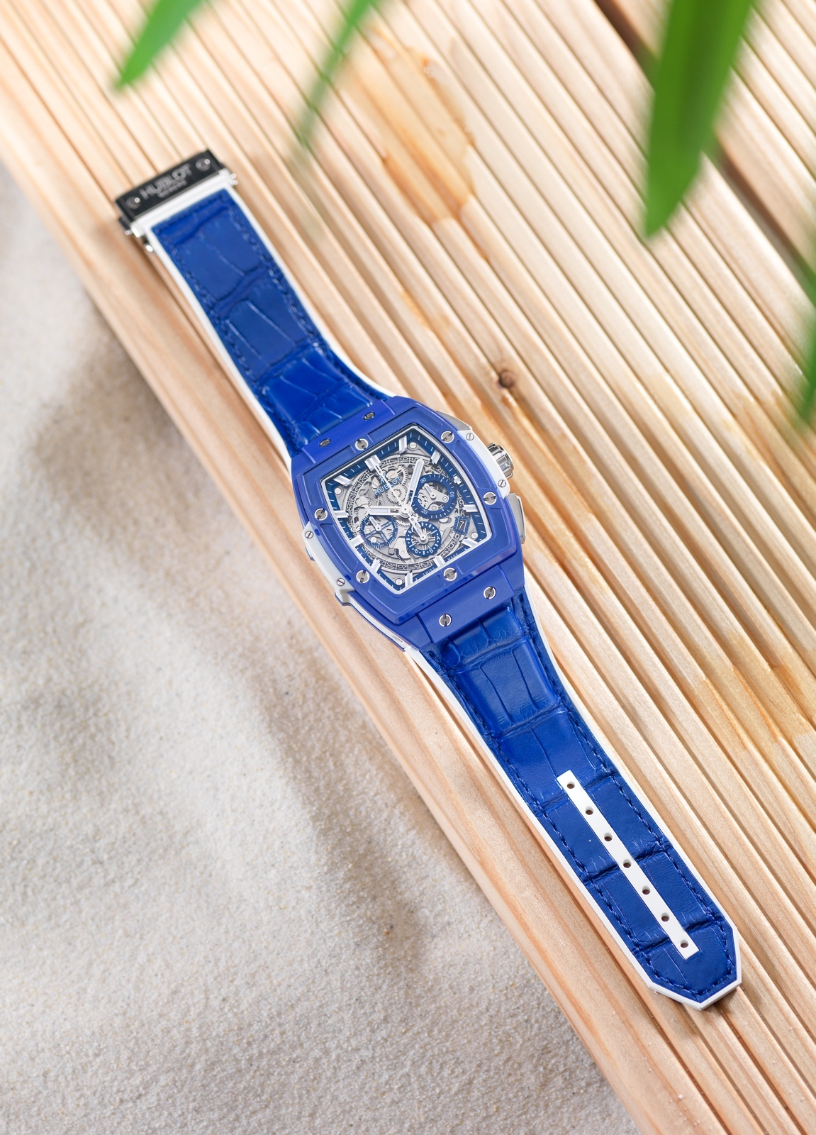 Hublot Spirit of Big Bang Blue - ambiente 2