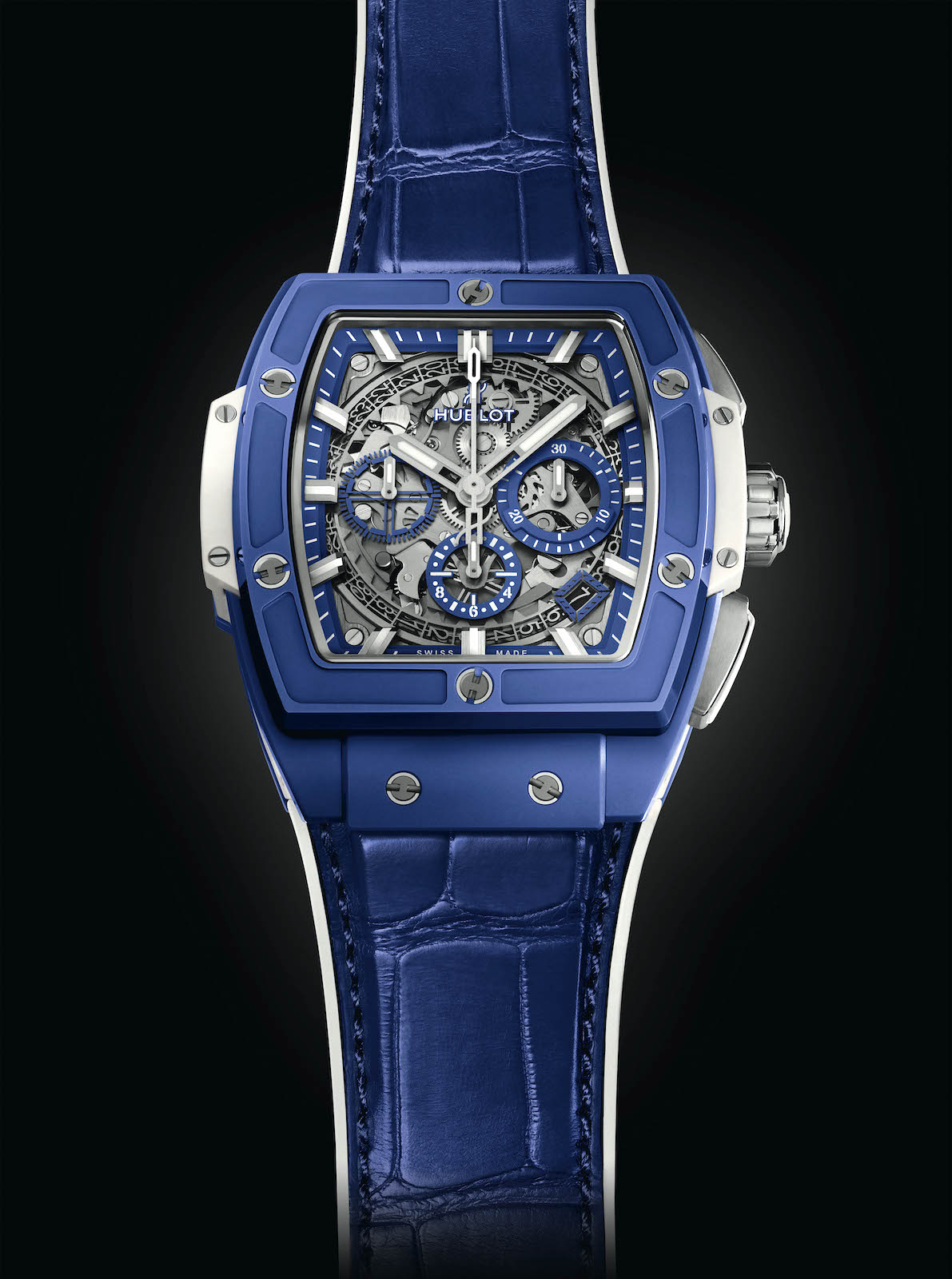 Hublot Spirit of Big Bang Blue - front