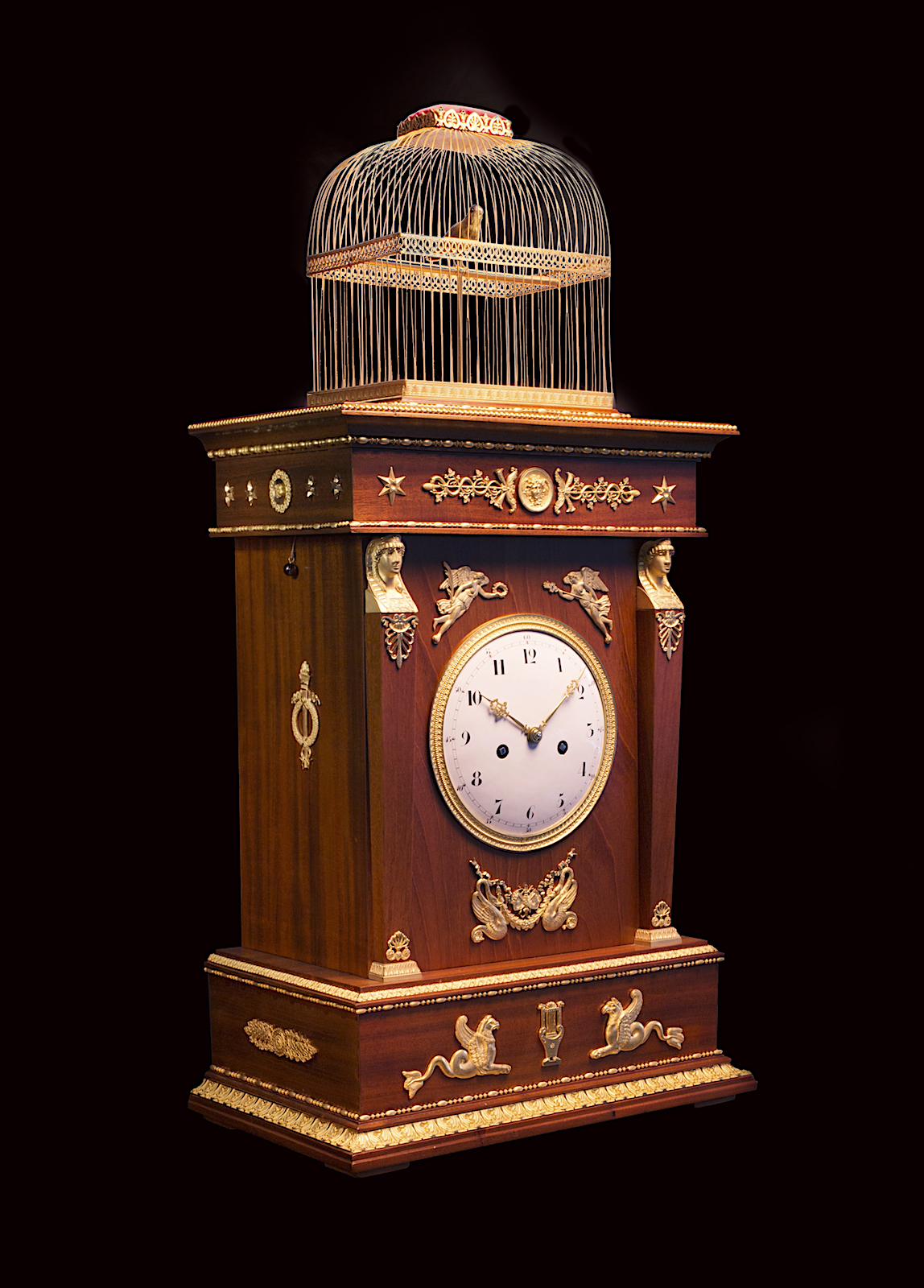 Jaquet Droz Singing Bird Clock
