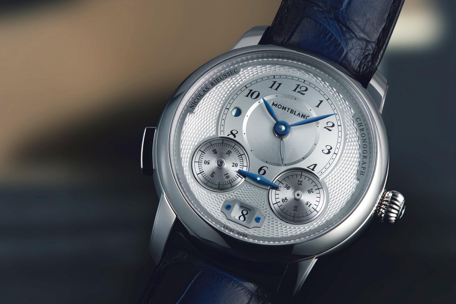 Montblanc Nicolas Rieussec Chronograph 2018 Detalle