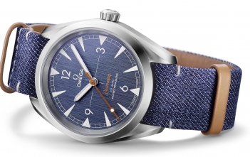 Omega Railmaster Denim Cover