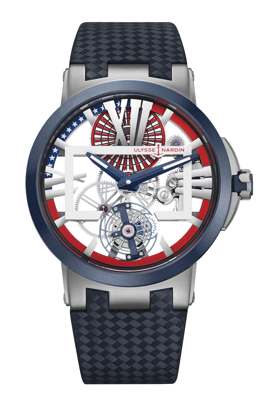 Ulysse Nardin Executive Skeleton Tourbillon Stars and Stripes