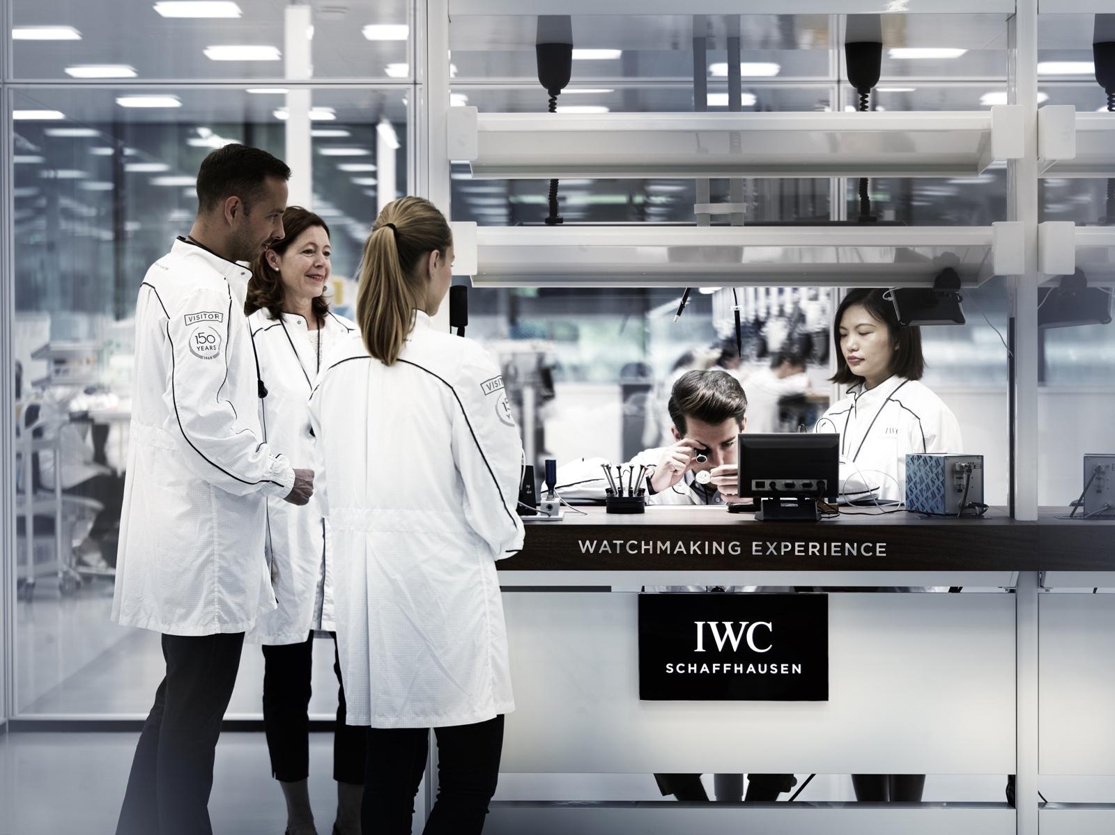 IWC Manufakturzentrum Sala Visitantes