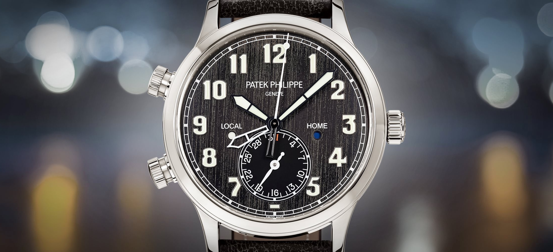 Patek Philippe Calatrava Pilot Travel Time 5524T - cover