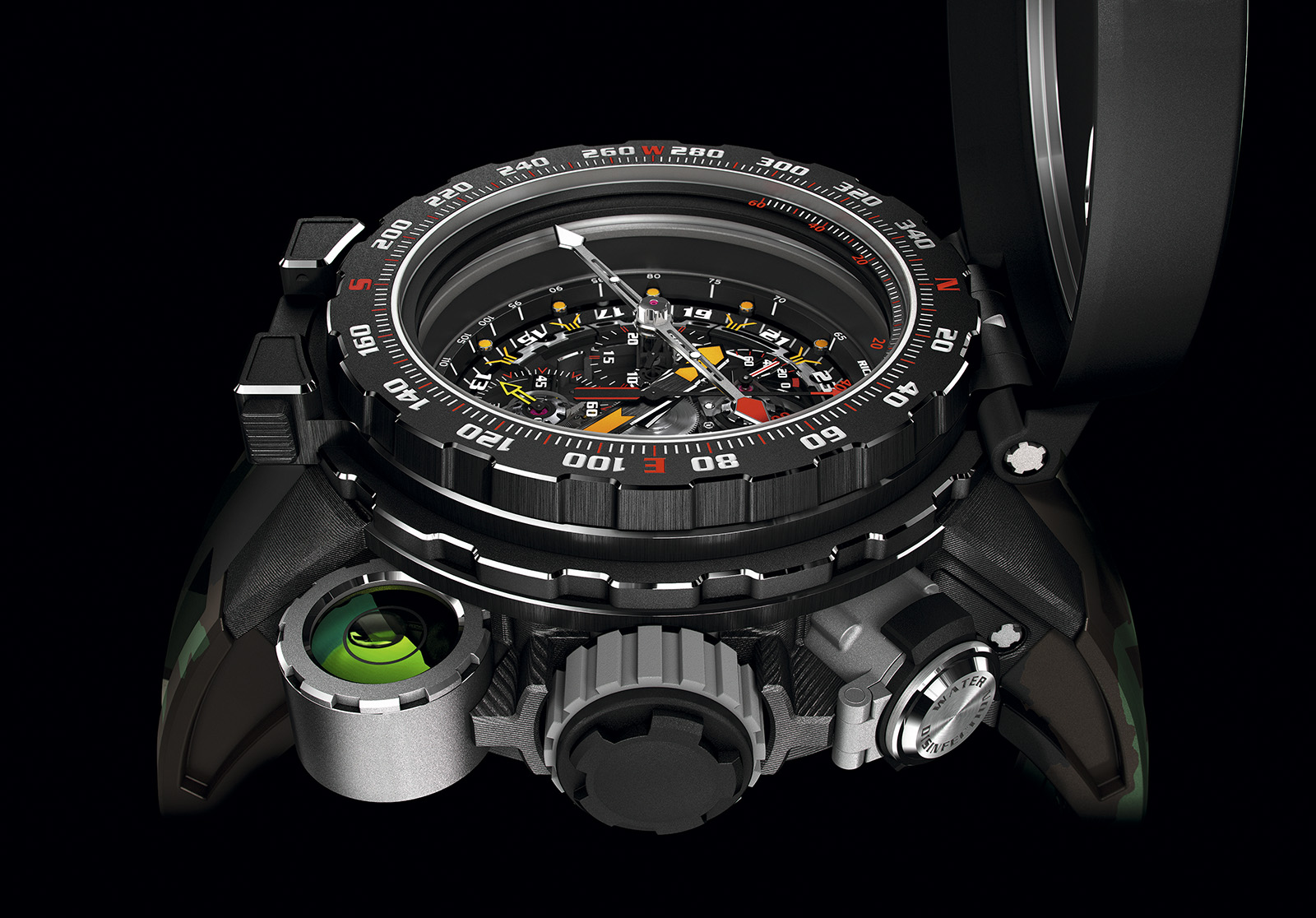 Richard mille rm 25 01 tourbillon adventure un reloj de para sylvester stallone for Adventure watches