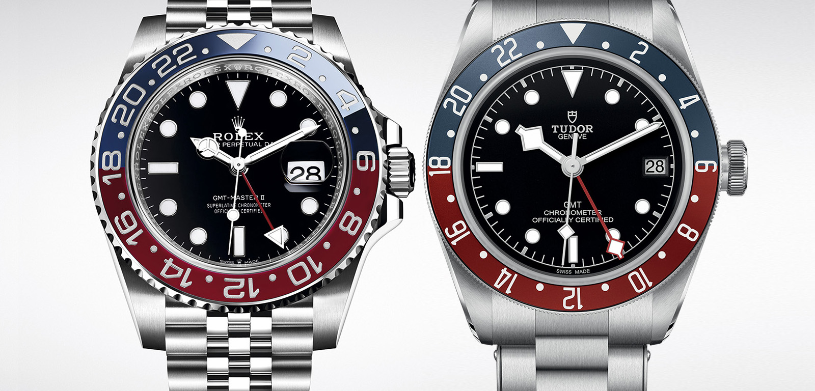 2e526130acc0 Rolex GMT-Master II pepsi vs Tudor Black Bay GMT