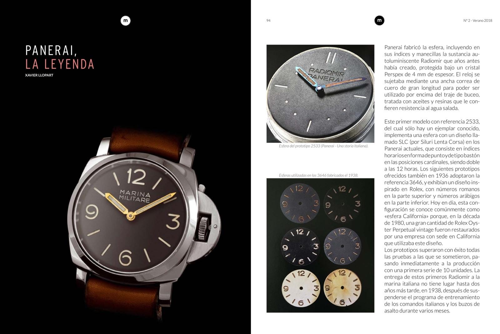 manufacture Magazine N2 Panerai