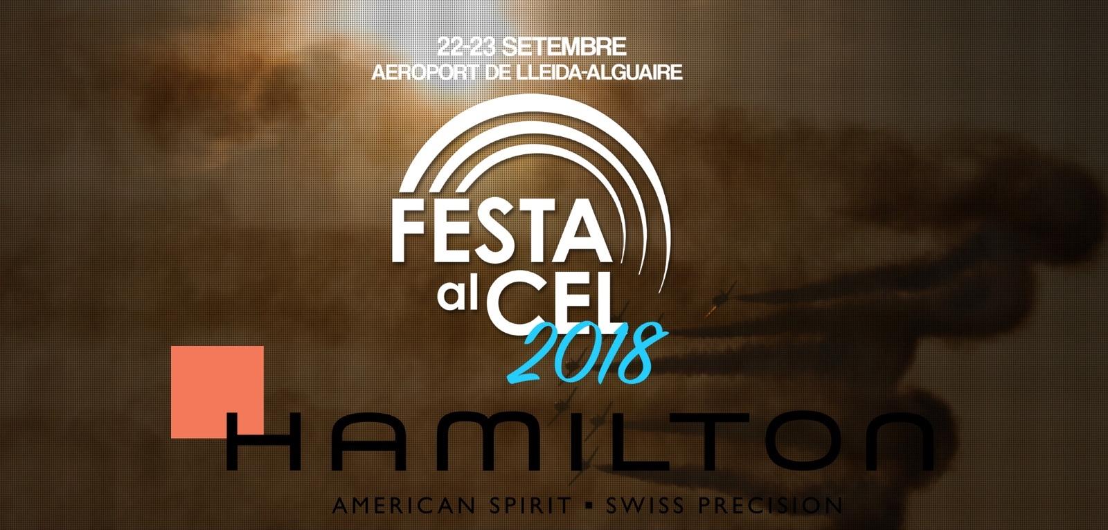 Hamilton - Festa al Cel - Cover