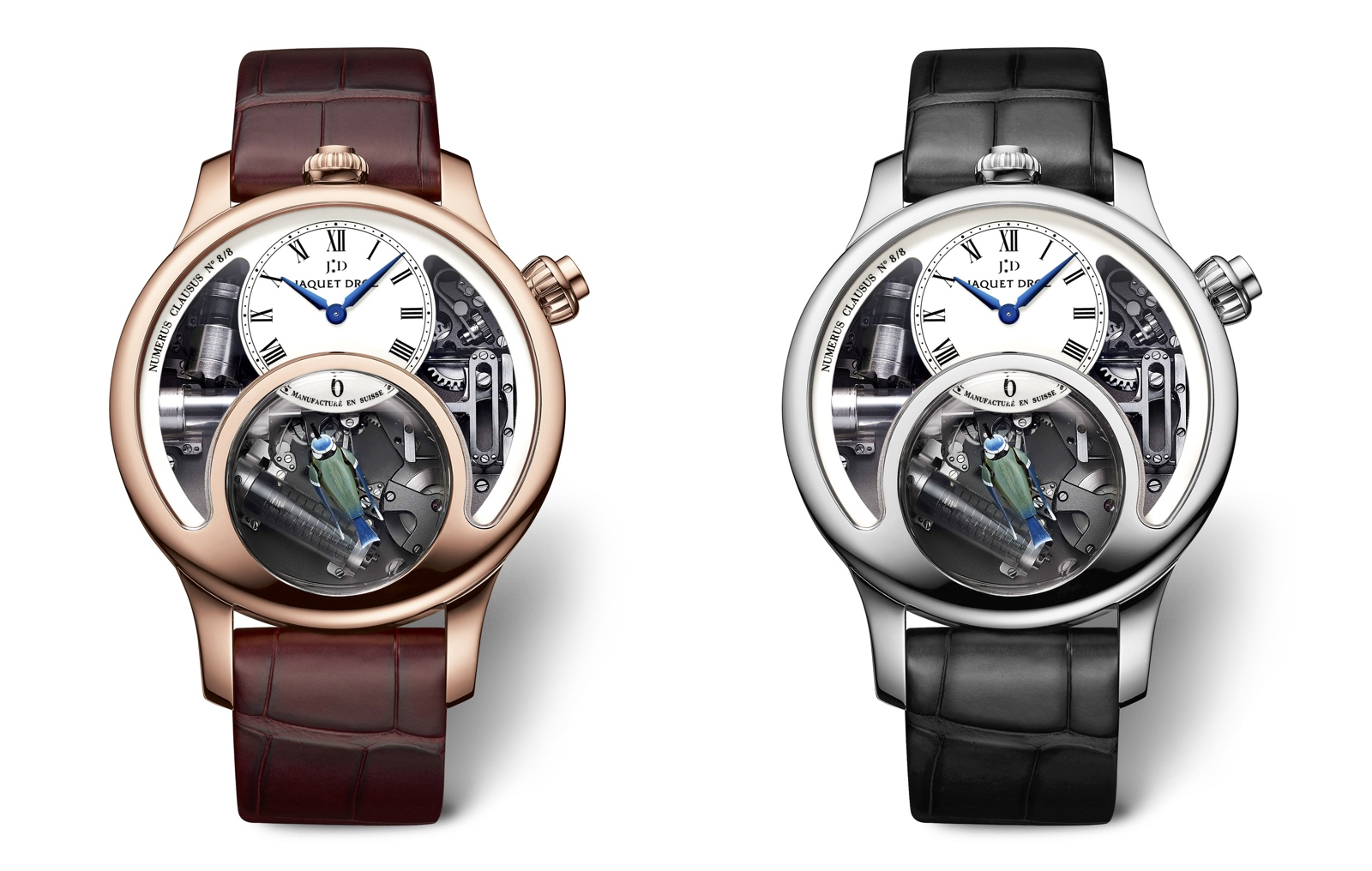 Jaquet Droz Charming Bird 2018 - duo