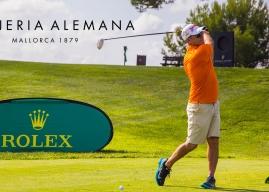 Relojería Alemana colabora con el Trofeo Rolex de Golf en Mallorca