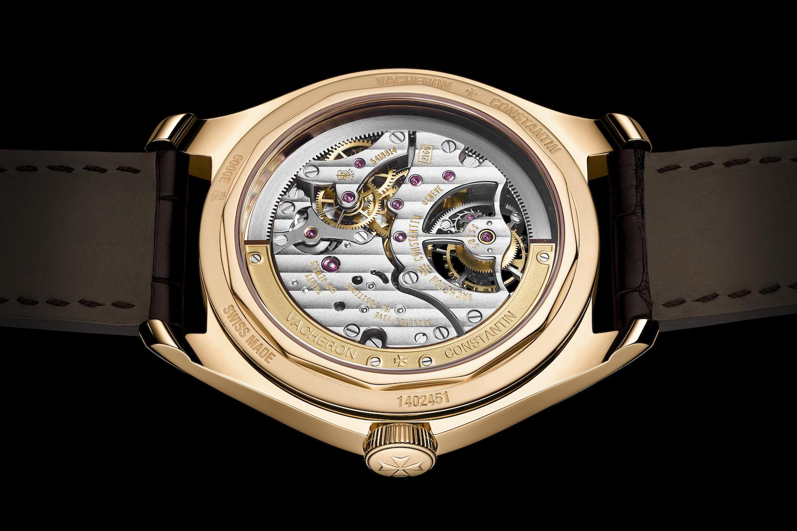 Vacheron Constantin Fiftysix Tourbillon - back