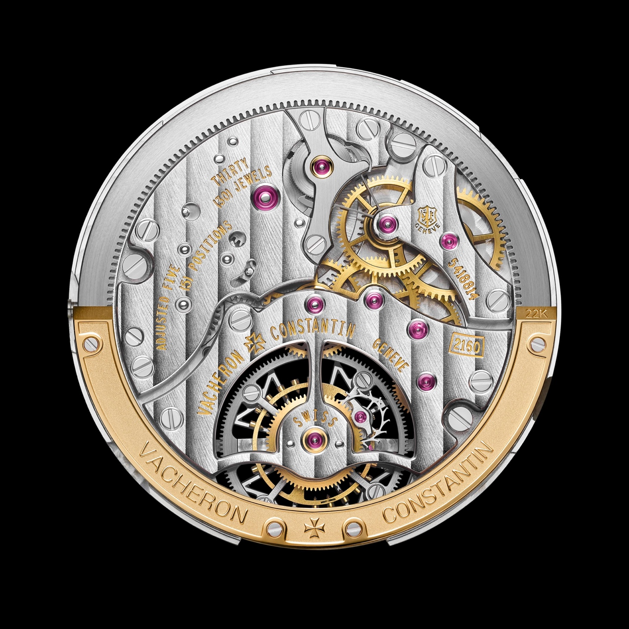 Vacheron Constantin Fiftysix Tourbillon - calibre 2160