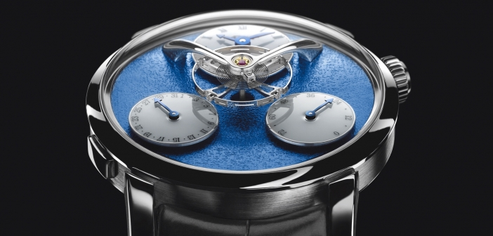 MB&F Legacy Machine Split Escapement en movimiento.
