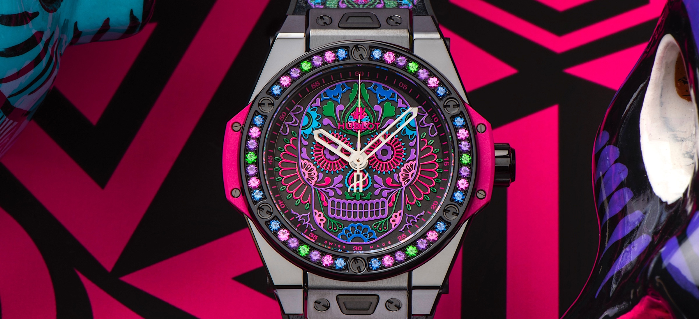Hublot Big Bang One Click Calavera Catrina - cover2