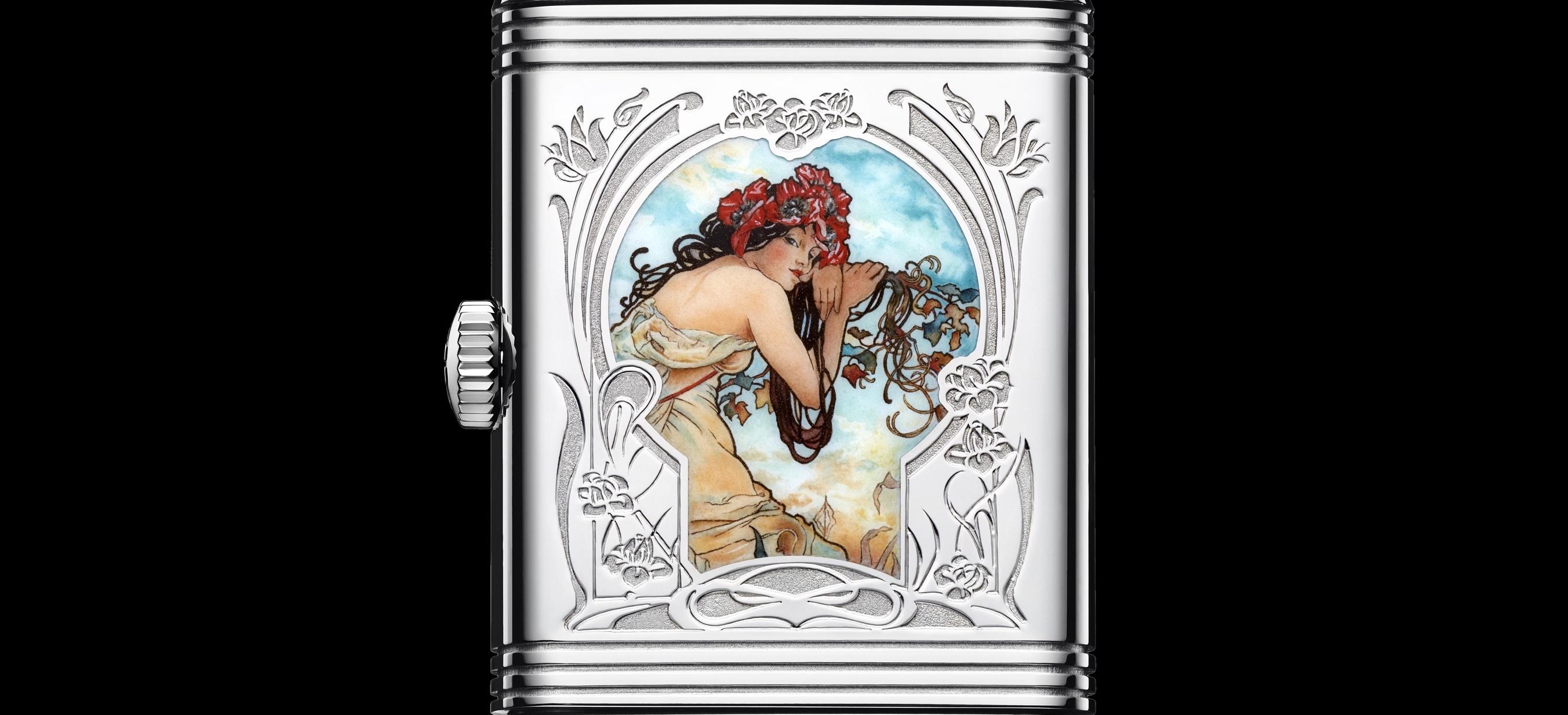 Jaeger-LeCoultre Reverso Tribute Enamel Alfons Mucha - cover