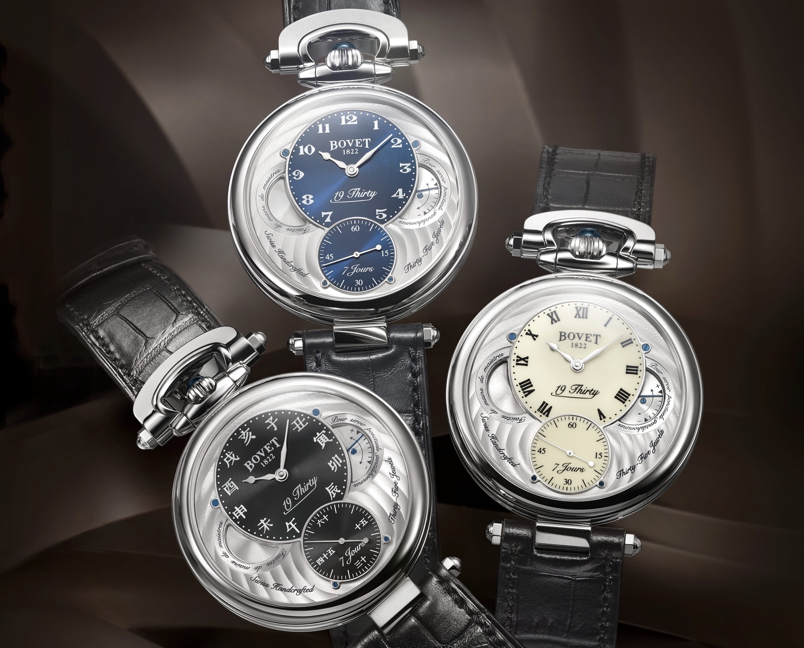 Bovet 19Thirty Fleurier Steel Models