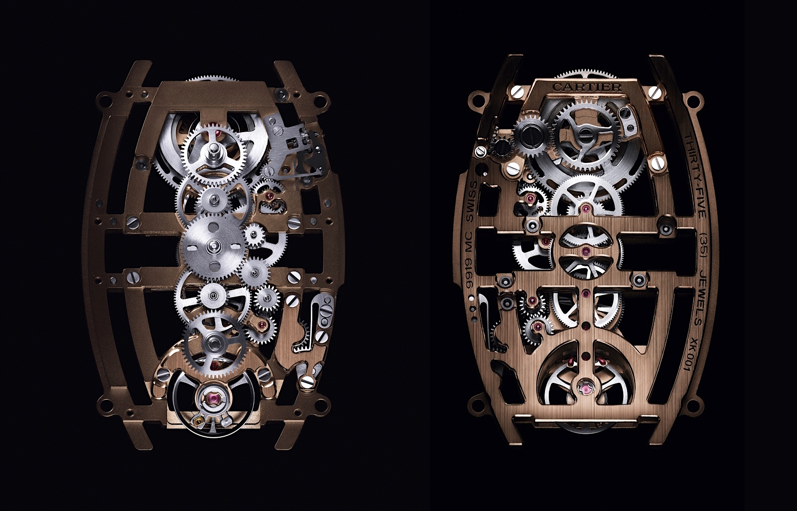 Cartier Privé Tonneau - Skeleton Dual Time Zone calibre 9919 MC