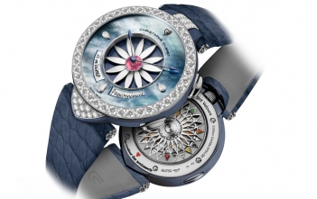 Margot Velours. El Margot de Christophe Claret se viste de terciopelo.