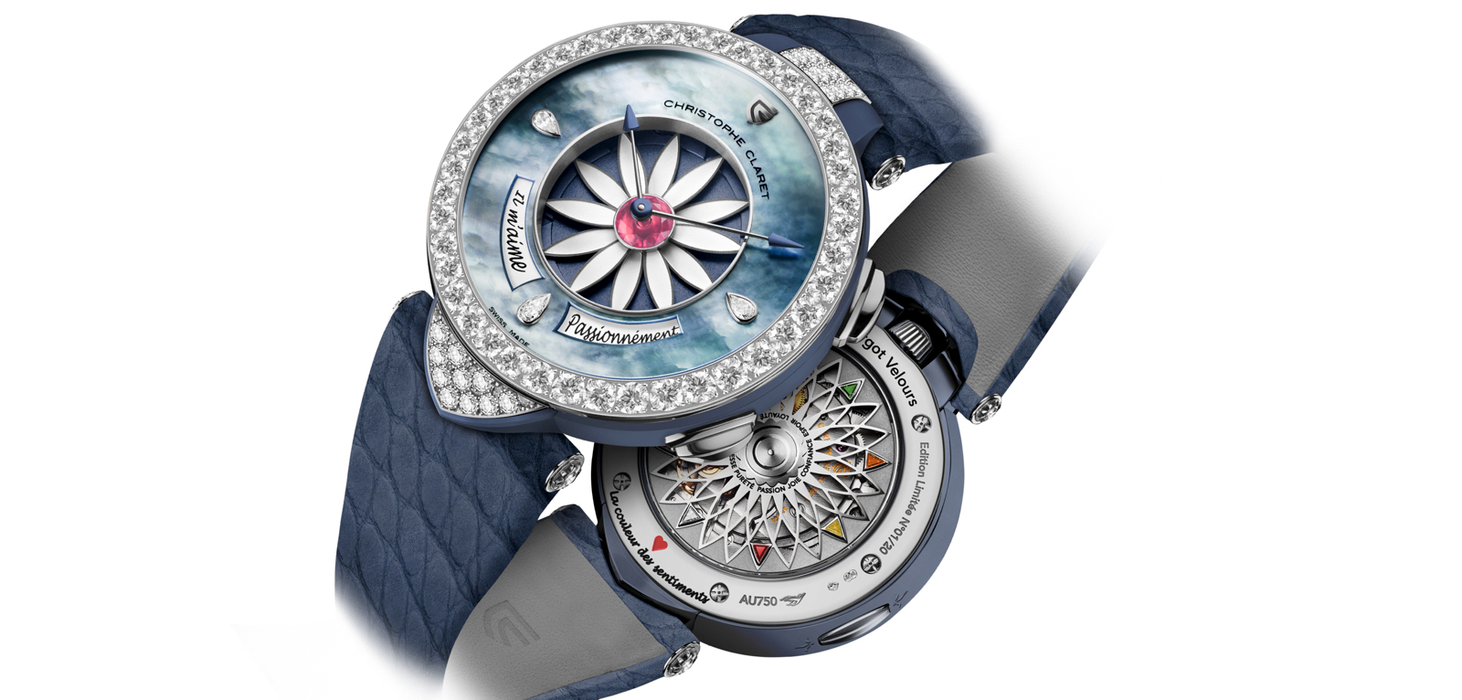 Christophe Claret Margot Veloirs Cover