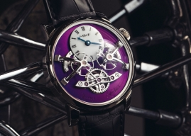 MB&F Legacy Machine Nº2 White Gold Purple. El último LM2.