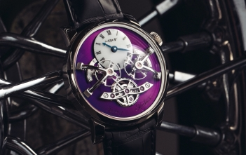 MB&F LM2 WG Purple Cover
