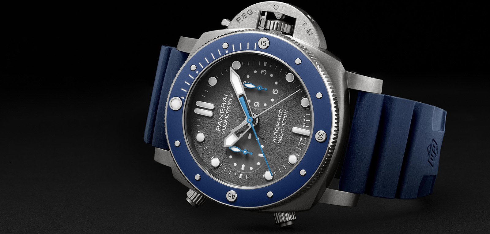 Panerai Submersible Chrono Guillaume Néry Edition-Pam982