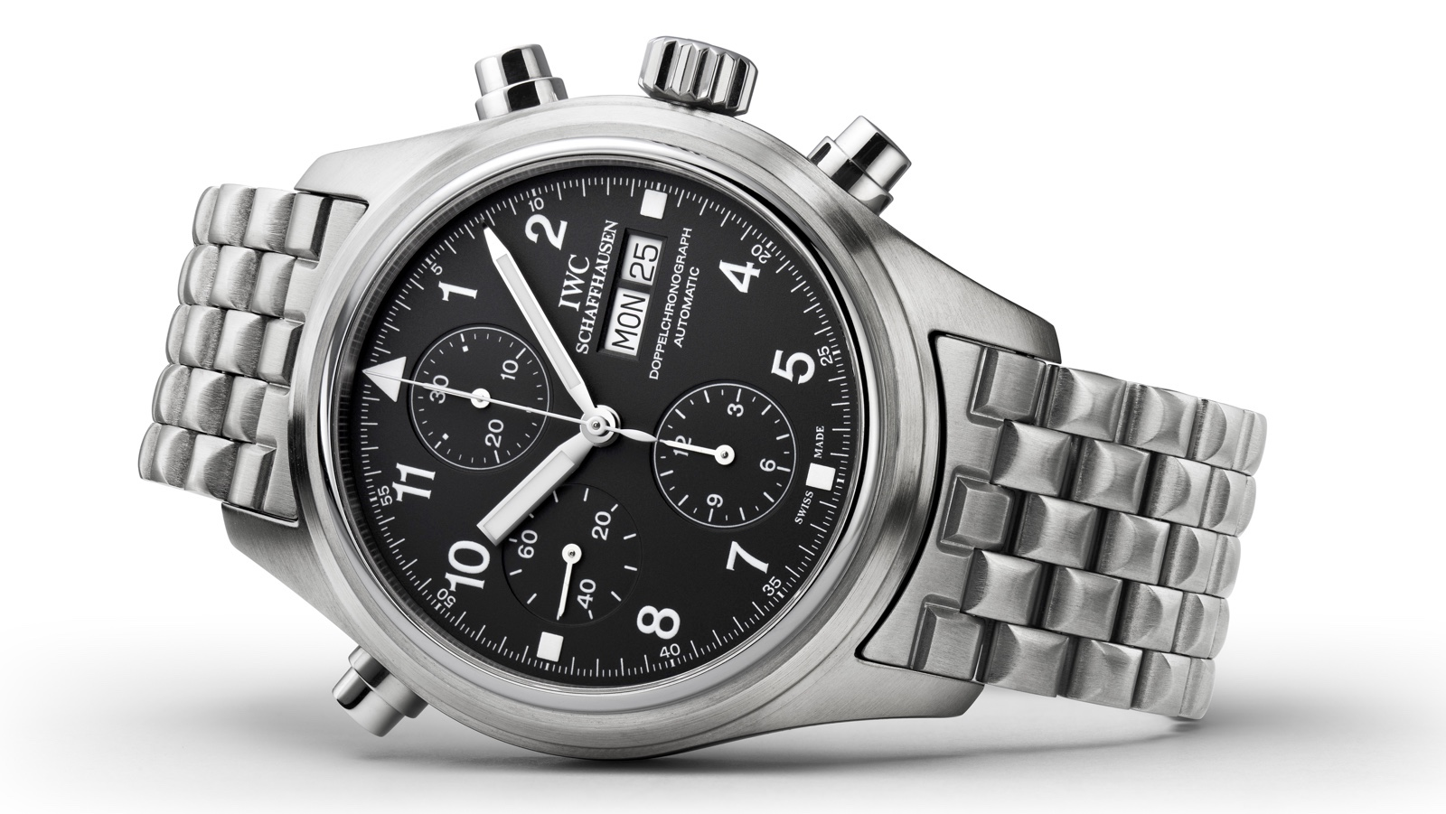 1992 IWC Pilots Watch Double Chronograph