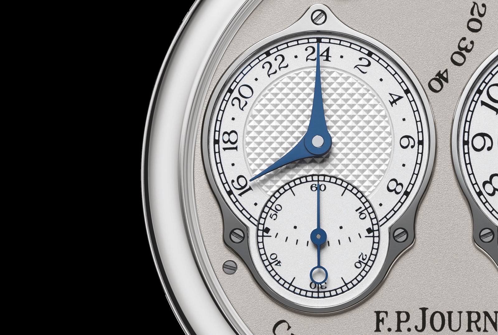 F.P. Journe Chronometre a Resonance 2019 - detalle 24 horas