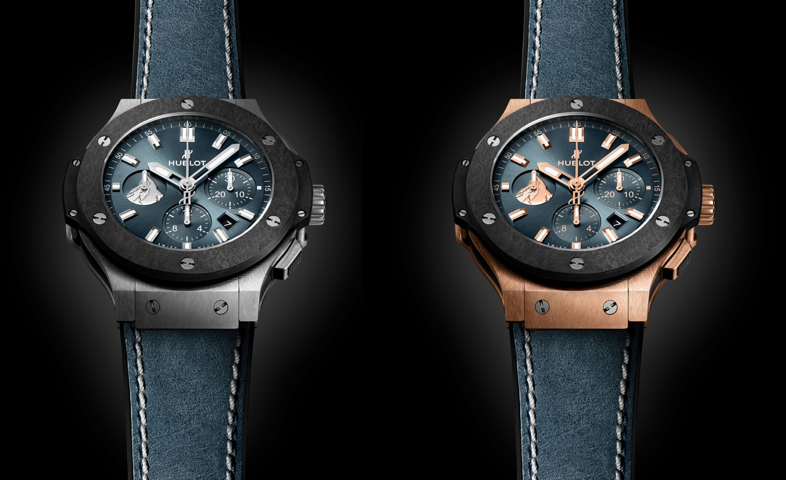 Hublot Big Bang Zermatt - duo