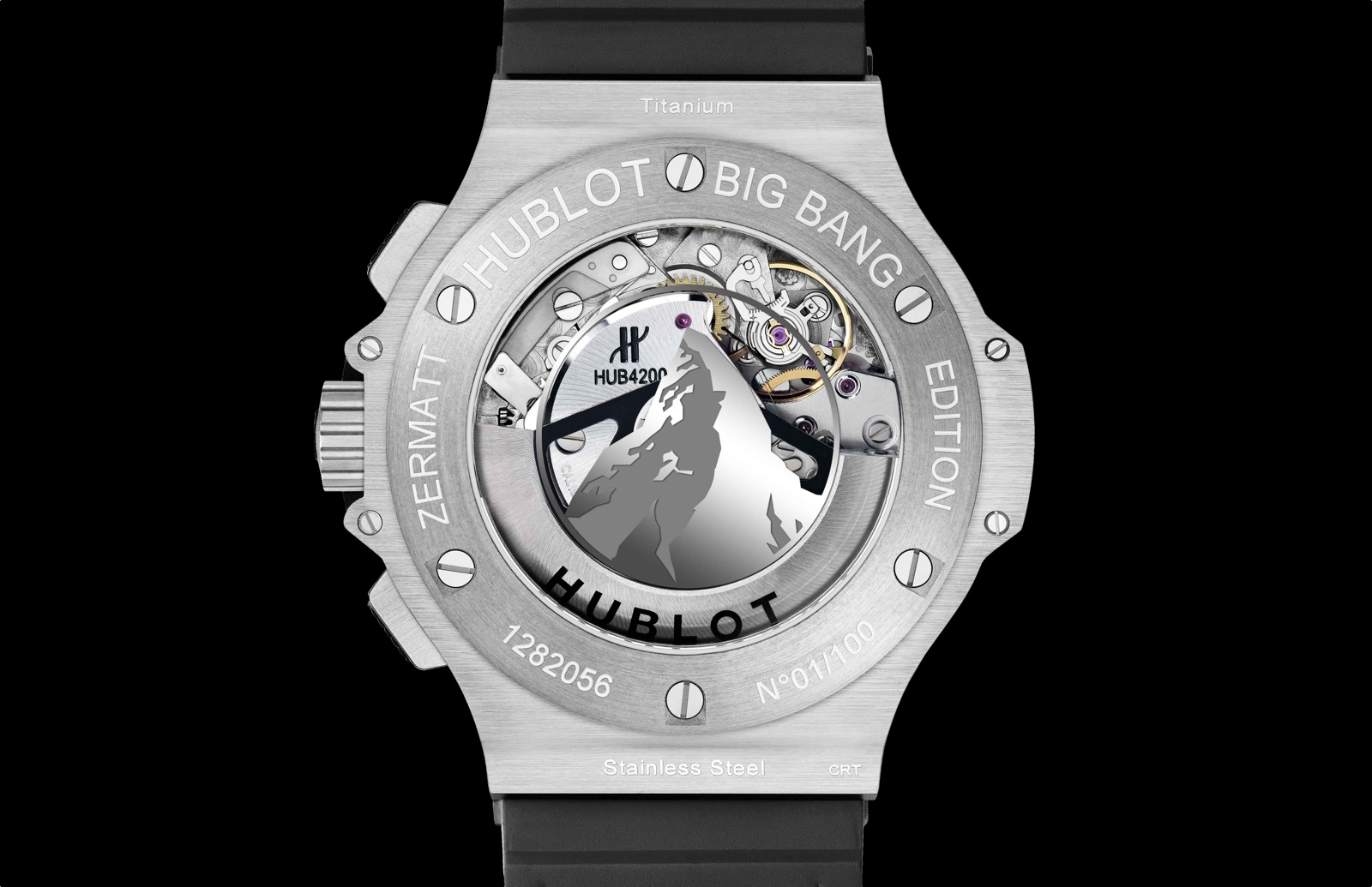 Hublot Big Bang Zermatt - fondo