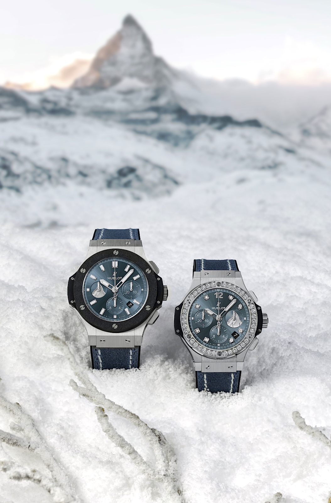 Hublot Big Bang Zermatt - steel duo