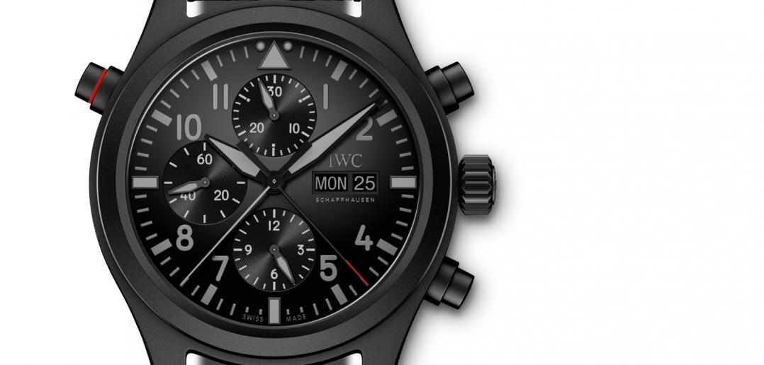 IWC-Pilots-Watch-Doble-Cronógrafo-Top-Gun-Ceratanium