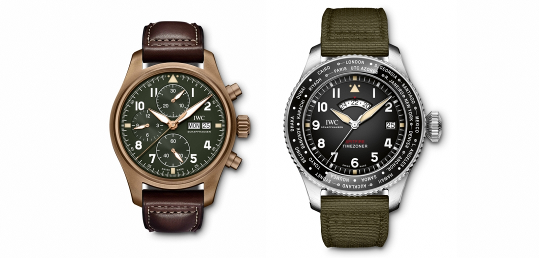 IWC Pilots Watch Spitfire SIHH 2019 Cover