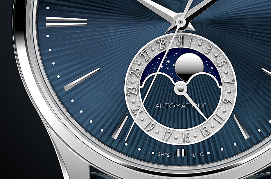 Jaeger LeCoultre Master Ultra Thin Moon Enamel - fase lunar