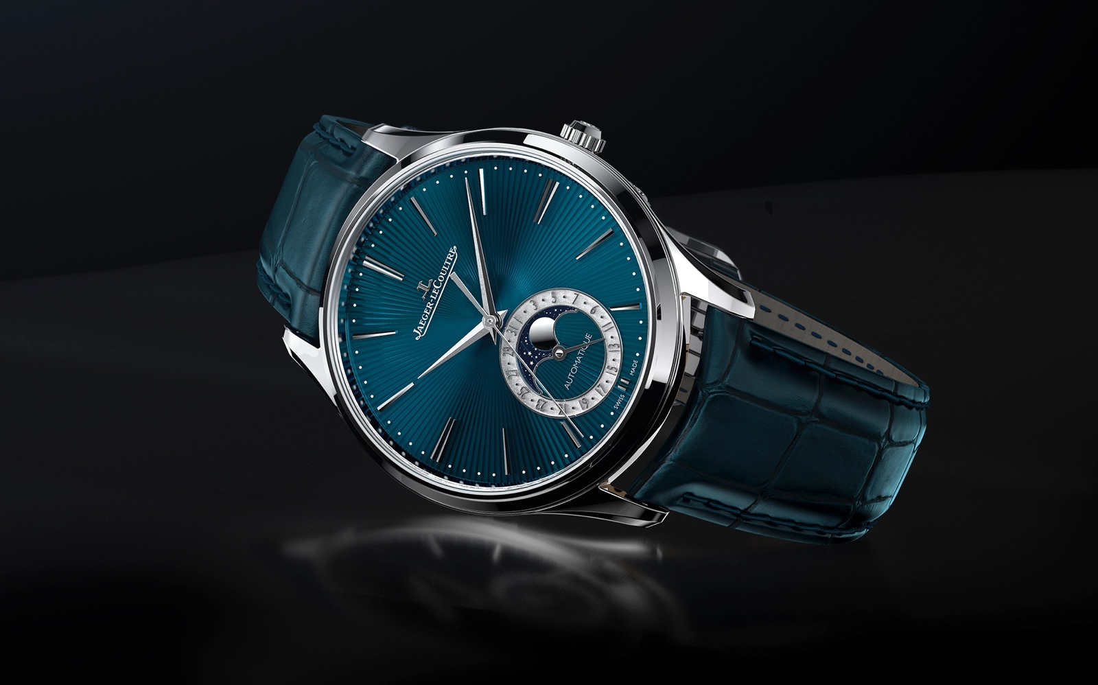 Jaeger LeCoultre Master Ultra Thin Moon Enamel - lifestyle