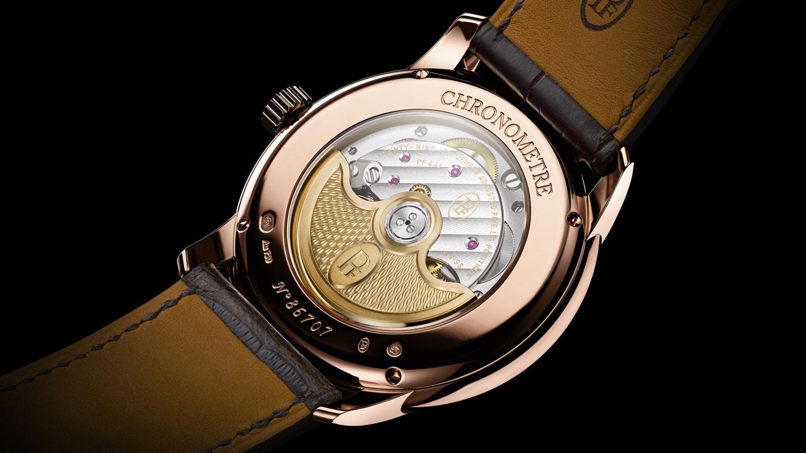 Parmigiani Fleurier Toric Chronometre Slate Caseback