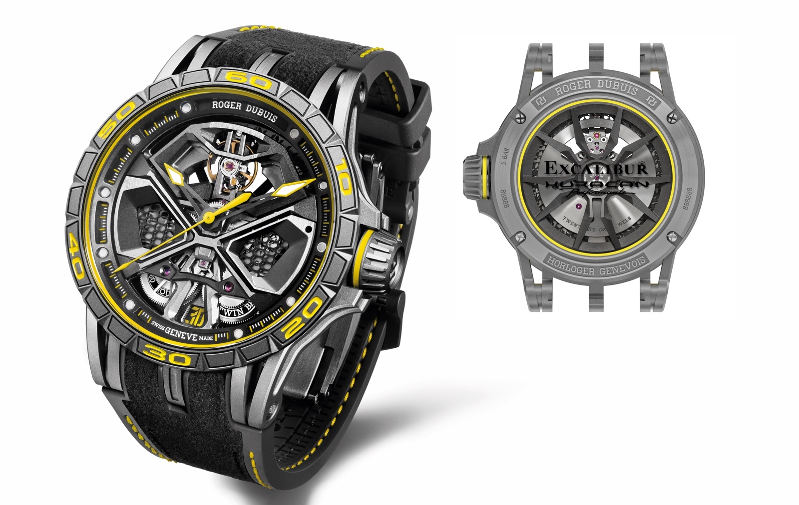 Roger Dubuis Excalibur Huracán Performante Combo
